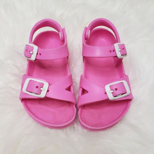 Birkenstock | Little Girl Pink Rubber Size 24